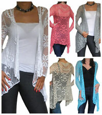 All Seasons Thin Knit Floral Cardigans for Women
