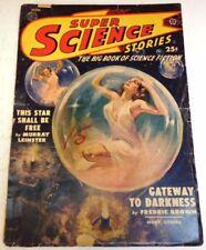 November Vintage Paperback Sci-Fi Magazines