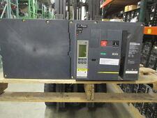 Sq D NW40H2 Masterpact Breaker 4000A 3P 600V 5.0P Trip LSI EO/DO Used E-Ok