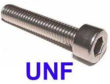 1/4-28 x 1 UNF Stainless Steel Socket Capscrews UNF - 1/4 x 1 UNF Allen Bolt x10