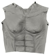 Werewolf Chest Latex Grey Adult Costume Halloween Dress Up Distortions