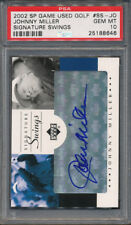 2002 SP Game Used Golf Signature Swings #SS-JO Johnny Miller PSA 10 *8646