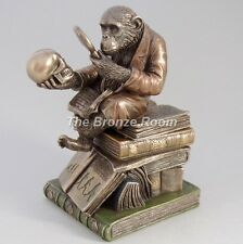Darwin's Monkey - Theory of Evolution Bronze Sculpture / Trinket Box