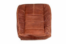 08-10 Ford F-250 4x4 Diesel F250 Driver Bottom King Ranch Leather Seat Cover