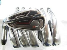 Used LH TaylorMade RSi 1 5-PW Iron Set TaylorMade REAX Graphite Regular Flex R