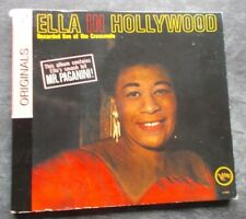 ELLA FITZGERALD IN HOLLYWOOD RECORDED LIVE AT THE CRESCENDO DIGIPAK CD ALBUM EXC