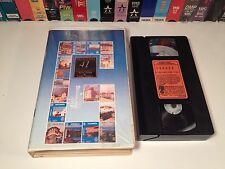 Greece: Country Of Light Travel Documentary VHS 1989 Zeus Tours Yacht TVP-Hellas