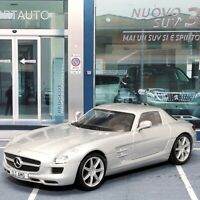 Mercedes SLS AMG Silver 1:43 Scale Die-cast Model Toy Car Deagostini New Open