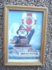 LIFEBUOY SOAP - ADVERTISING PICTURE, FRAMED.