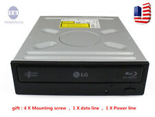 LG/HL 12x Internal Blu Ray combo DVD/CD Burner Writer Drive UH12NS29+SATA Cable