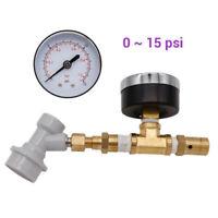 Spunding Valve 0-60/0-15psi Rotary Adjustable Pressure Ball Lock Assembly Tool