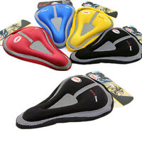 Cycling Pad Covers Bike Bicycle BMX Silicone-type Gel Comfort Seat Saddle Cover