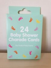 Baby Shower Charade Cards