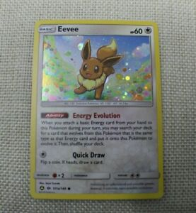 Pokemon TCG Eevee 101a/149 Holo Promo Trading Card Near Mint