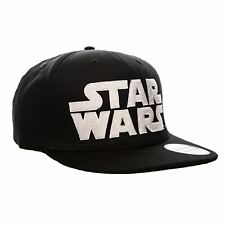 Star Wars Logo Retro Style Snapback Cap Baseball Hat - One Size Adult Written