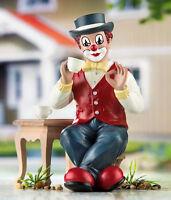 Gilde Clowns Clown Der Genießer Handbemalte Sammlerfigur Jahresclown 10228