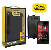 OtterBox Defender Case Rugged Motorola Droid RAZR Maxx HD Black, 77-22902