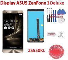 "LCD PER ASUS ZENFONE 3 DELUXE TOUCH SCREEN ZS550KL Z01FD 5,5"" SCHERMO GOLD ORO"