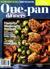 Diabetic Living: ONE-PAN DINNERS Magazine ~ Carb-Smart Recipes ~ Meal Plan ~ NEW