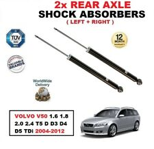 REAR SHOCK ABSORBERS for VOLVO V50 1.6 1.8 2.0 2.4 T5 D D3 D4 D5 TDi 2004-2012