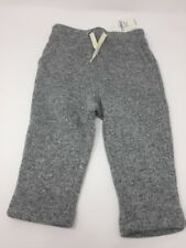 Baby Gap 12-18 Months Boys Sweats Pockets Heathered Grey Knitted