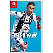 Electronic Arts FIFA 19  NINTENDO SWITCH JAPANESE IMPORT REGION FREE