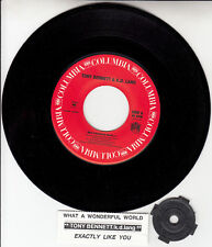 "TONY BENNETT & K.D. LANG  What A Wonderful World 7"" 45 rpm vinyl record NEW"