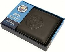 Manchester City F.c. Debossed Wallet Football Christmas Gift