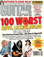 Guitar World Magazine December 2004  - All Time 100 Worst Riffs, Licks & Solo's