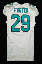 #29 Arian Foster of Miami Dolphins NFL Game Issued Locker Room Jersey