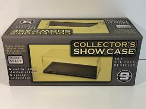 Display Case Black Base Stackable 1:24 Scale T9 24000