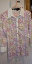 Mary Quant London brady bunch 60's 70's vintage hippy groovy style dress pinks