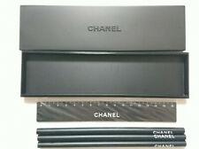 CHANEL Stationery Set Pencil Ruler Pencil Case  Novelty