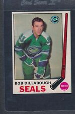 1969/70 O-Pee-Chee OPC #150 Bob Dillabough Seals NM *18