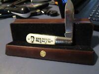 """Vintage Elvis """"King of Rock and Roll"""" Barlow Pocket Knife"""