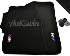 Floor Mats For BMW With /// M Emblem USA Vehicle TAILORED 1990-2018 All Models