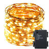 200LED String Fairy Lights Copper Wire Battery 20 Lamp Waterproof Christmas Deco