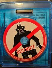 4 horror blu rays/District 9/Creepshow 2/Evil Dead 2/The Innkeepers