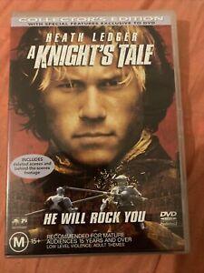 A Knight's Tale (DVD Region 4) Collector's Edition - Heath Ledger