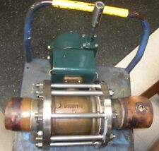 """Worcester Controls 4"""" Brass Tube Line Ball Valve with Manual Actuator"""