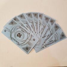 Monopoly junior lot de 45 billets en bon état