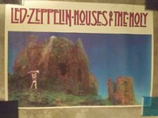 "VINTAGE 1973(?) Led Zeppelin ""Houses of the Holy"" Original Poster"