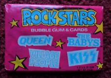 Unopened Pack 1979 ROCK STARS MUSIC CARDS ~ KISS Queen Village People The BABYS