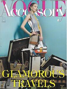 Vogue Accessory Magazine Fashion Bags Jewelry Sunglasses Shoes Makeup 2013
