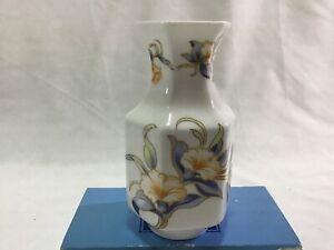 Aynsley Porcelaine Miniatures Pembroke Vase Just Orchids