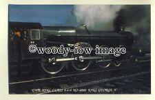 ry875 - Great Western Railway Engine no 6000 King George V - plain back card