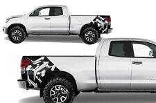 Custom Vinyl Rear Decal Arrows Wrap Kit for Toyota Tundra TRD 07-13 Matte Black