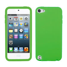 For Apple iPod touch (5th generation) Solid Skin Case Cover (Dr Green)