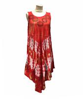 New Women Umbrella Dress  Sleeveless Soft Quality Beach Summer Sundress
