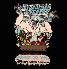 DISNEY PIN - MICKEY MOUSE GOOFY Expedition Everest Opening Day 2006 DVC WDW LE